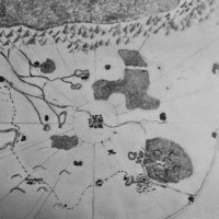 Hand Drawn Map for Legacy Book One of The Black Prince Sage, Fist Attempt